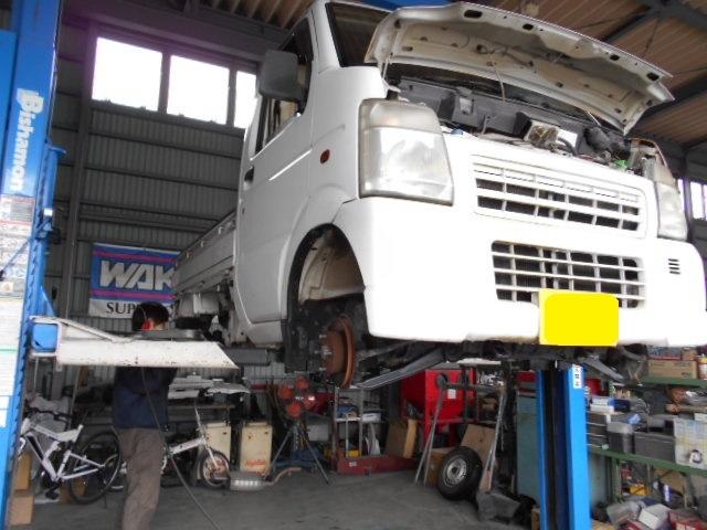DA63T キャリイトラック アゲトラ 展示車両作製中♪♪!(*´∀`*)_c0213517_14310517.jpg