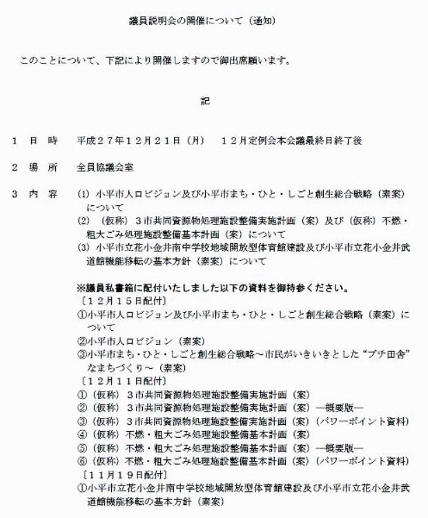 小平市議会12月定例会終了_f0059673_23271661.jpg