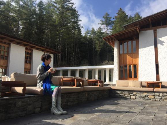 3日目はラグジュアリーなホテルから(ブータンのアマンコラ)_d0339885_00050766.jpg