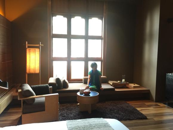 3日目はラグジュアリーなホテルから(ブータンのアマンコラ)_d0339885_00050994.jpg