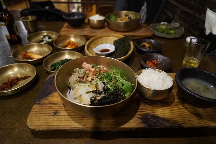かに味噌入りかにのビビンバと、うにのビビンバがおいしかった江南の海鮮韓国料理屋さん「バラッ」。_a0223786_10362097.jpg