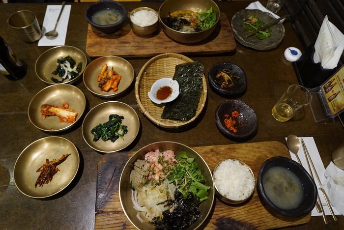 かに味噌入りかにのビビンバと、うにのビビンバがおいしかった江南の海鮮韓国料理屋さん「バラッ」。_a0223786_10364669.jpg
