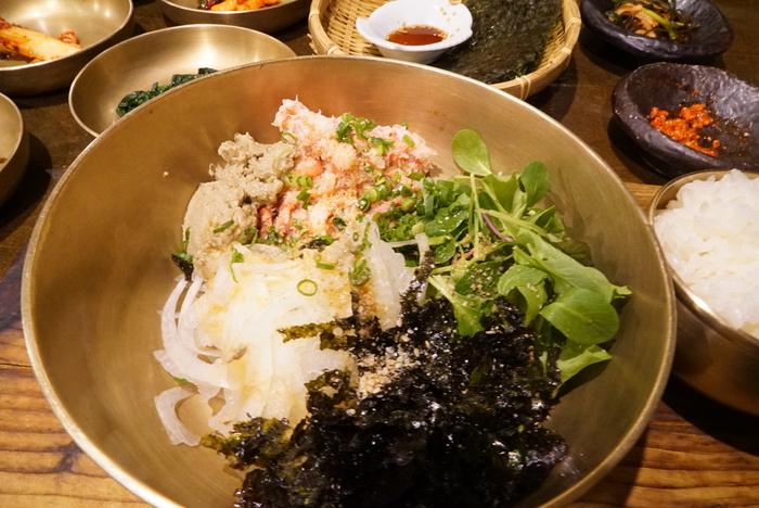 かに味噌入りかにのビビンバと、うにのビビンバがおいしかった江南の海鮮韓国料理屋さん「バラッ」。_a0223786_10365292.jpg