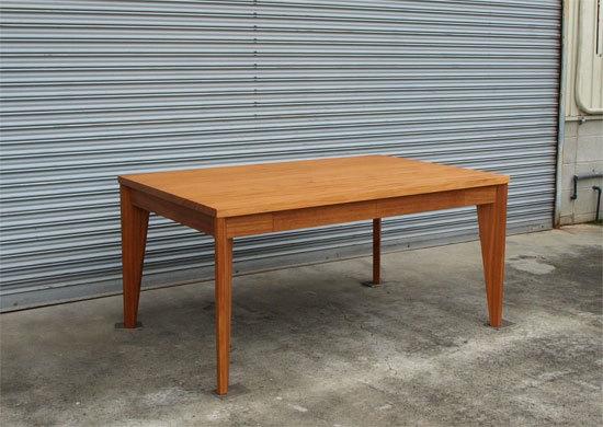 アフリカンマホガニー、ダイニングテーブル_e0115686_16231184.jpg