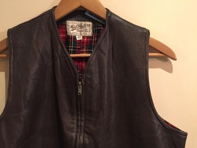 12月23日(水)大阪店ヴィンテージ入荷日!!#4 Leather&Blanket編!!BUCO J-100ZebraLiner!!(大阪アメ村店)_c0078587_1336426.jpg
