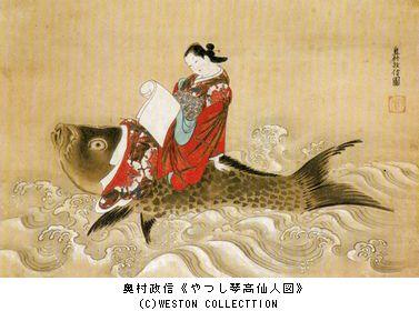 肉筆浮世絵 @上野の森美術館_b0044404_19121376.jpg