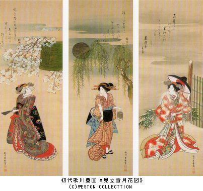 肉筆浮世絵 @上野の森美術館_b0044404_19122666.jpg