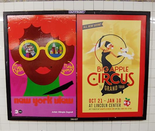NYの地下鉄で見かけた、可愛すぎるサーカスのポスター_b0007805_2148486.jpg