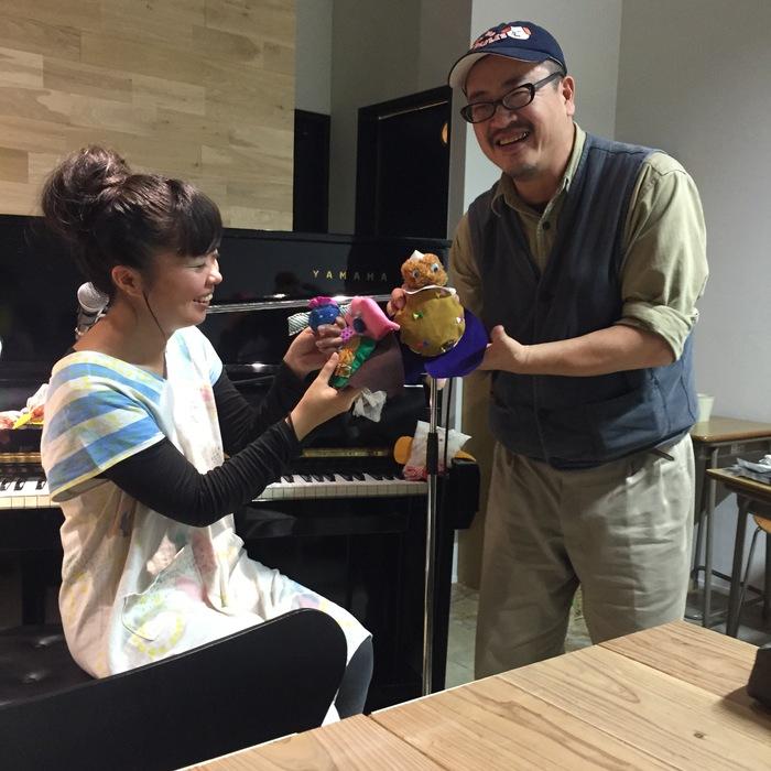 リボンヌ手芸部 in とらきつね_d0116009_1434441.jpg