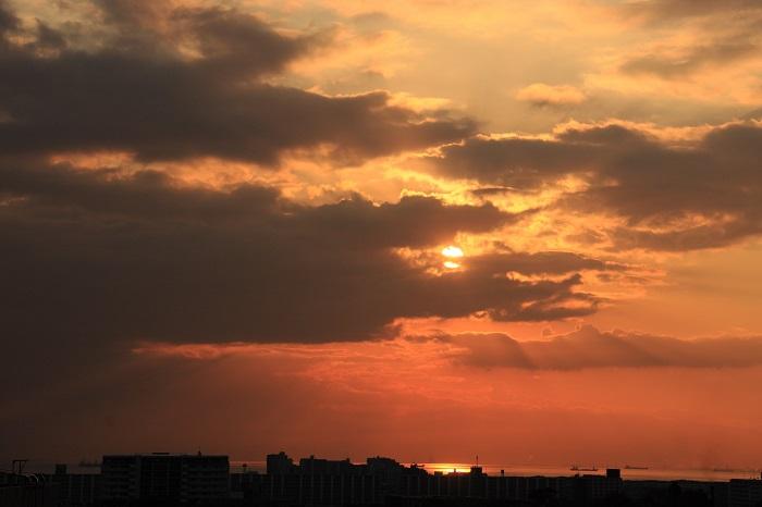日暮れ時 (東京湾)_b0268615_8142652.jpg