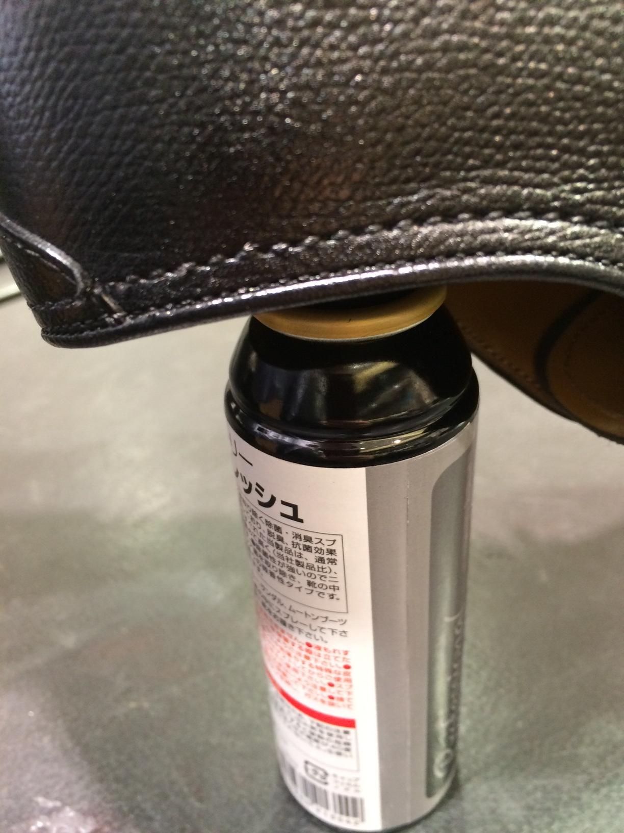 靴の中をサラッと快適に、除菌消臭のオススメ_b0226322_11025798.jpg