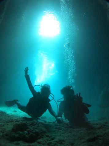 12月22日本日も夏日で青の洞窟も最高でした!!_c0070933_18525291.jpg