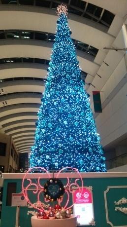 横浜 クイーンズタウンのクリスマス・ツリー_a0168274_20405283.jpg