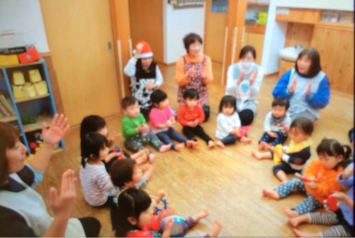 クリスマス会の様子☆_c0293682_17375023.jpg
