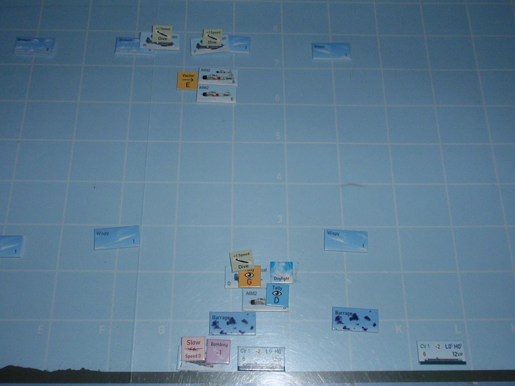 GMT「Wing Leader Victories 1940-1942」シナリオV23「Shimatta」をソロプレイ④_b0162202_19281553.jpg