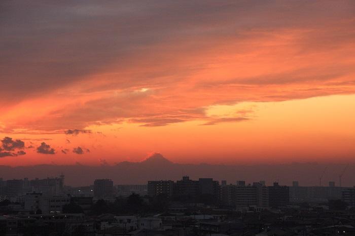 夕映えの雲-Ⅰ_b0268615_757518.jpg
