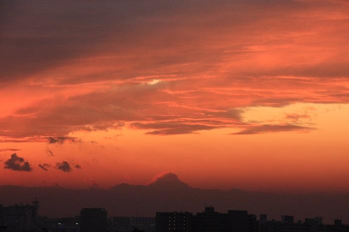 夕映えの雲-Ⅰ_b0268615_7581299.jpg