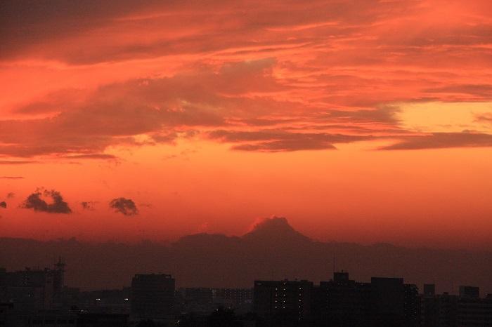 夕映えの雲-Ⅰ_b0268615_7583698.jpg