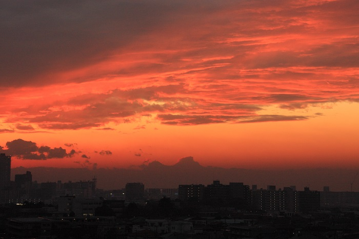 夕映えの雲-Ⅱ_b0268615_82266.jpg