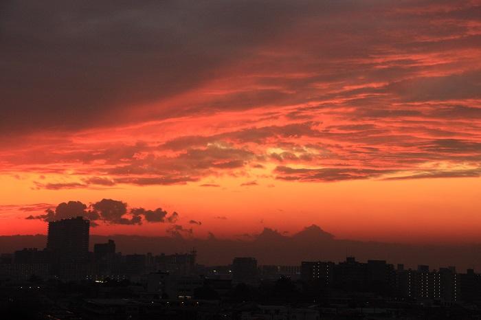 夕映えの雲-Ⅱ_b0268615_824973.jpg