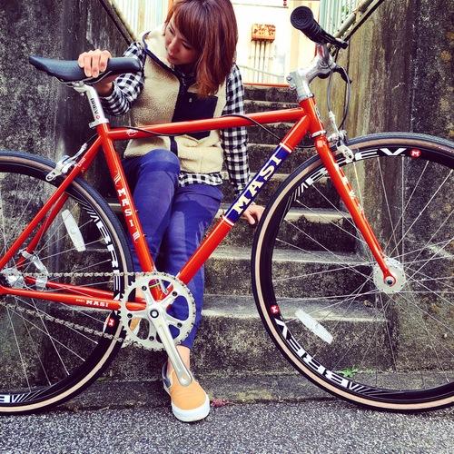 2016 MASI FIXED UNO RISER マジィ ピスト クロモリ おしゃれ自転車 自転車女子 自転車ガール_b0212032_16112731.jpg