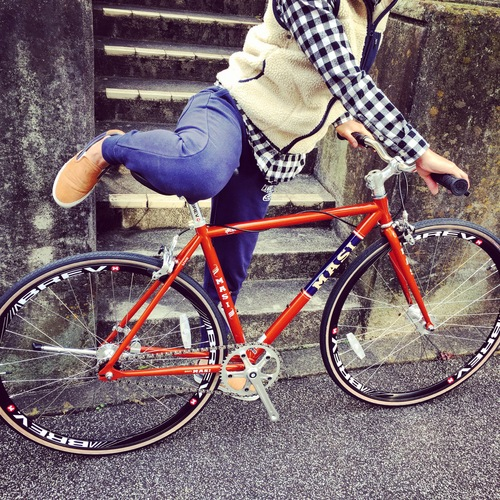 2016 MASI FIXED UNO RISER マジィ ピスト クロモリ おしゃれ自転車 自転車女子 自転車ガール_b0212032_16115775.jpg