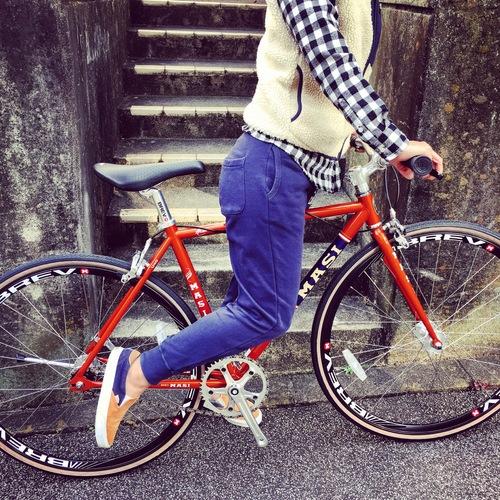 2016 MASI FIXED UNO RISER マジィ ピスト クロモリ おしゃれ自転車 自転車女子 自転車ガール_b0212032_16121581.jpg