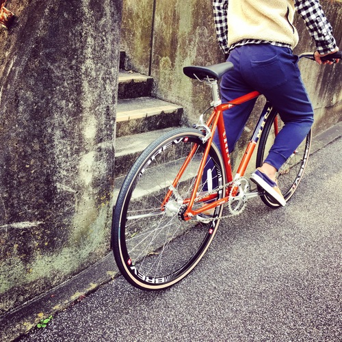 2016 MASI FIXED UNO RISER マジィ ピスト クロモリ おしゃれ自転車 自転車女子 自転車ガール_b0212032_16125576.jpg
