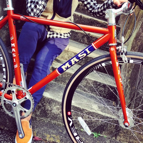 2016 MASI FIXED UNO RISER マジィ ピスト クロモリ おしゃれ自転車 自転車女子 自転車ガール_b0212032_16173939.jpg