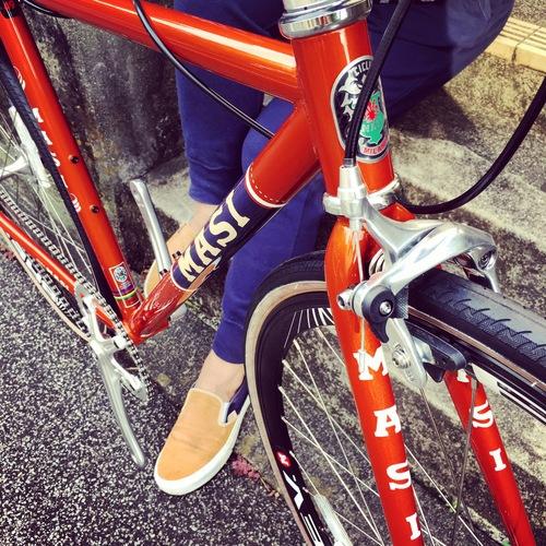 2016 MASI FIXED UNO RISER マジィ ピスト クロモリ おしゃれ自転車 自転車女子 自転車ガール_b0212032_161753100.jpg
