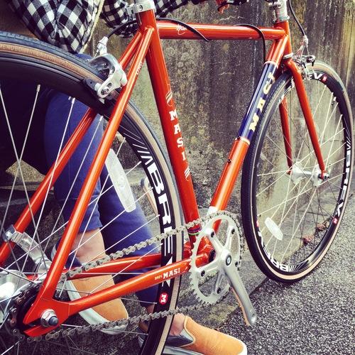 2016 MASI FIXED UNO RISER マジィ ピスト クロモリ おしゃれ自転車 自転車女子 自転車ガール_b0212032_1618613.jpg