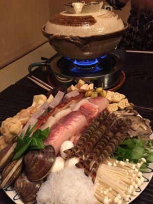 江戸料理・なべ家で忘年会_d0136540_22391924.jpg