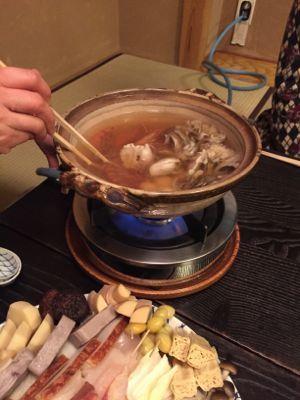 江戸料理・なべ家で忘年会_d0136540_22430199.jpg
