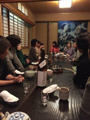 江戸料理・なべ家で忘年会_d0136540_22434079.jpg