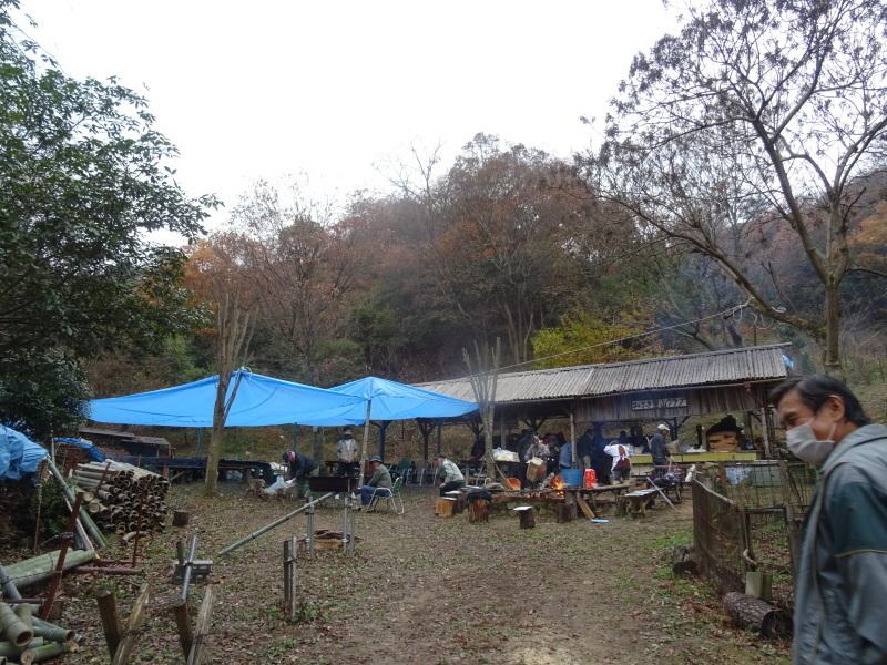 和歌山大学生「里山体験」 & 餅つき忘年会 in 孝子の森_c0108460_23191943.jpg