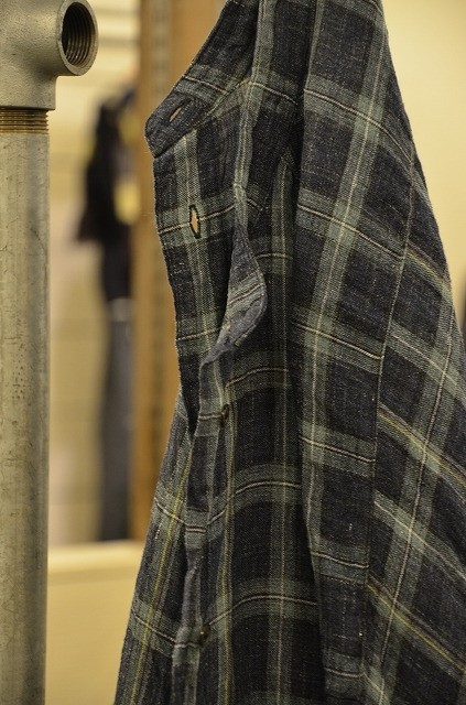 ◇◆R&D.M.Co- ◆◇LINEN TARTAN CHECK ROOMY SH_a0256162_20502957.jpg