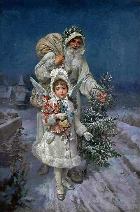 クリスマスのイラスト:Memories of Christmas_c0084183_11364576.jpg