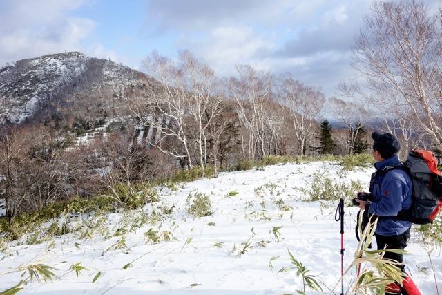イチャンコッペ山と幌平山、12月20日-同行者からの写真-_f0138096_10431438.jpg