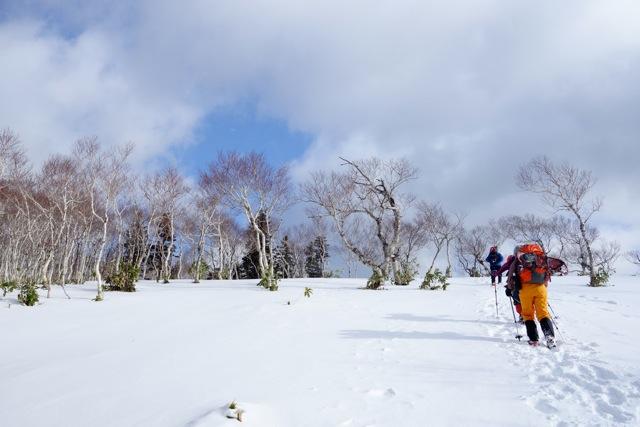 イチャンコッペ山と幌平山、12月20日-同行者からの写真-_f0138096_10432223.jpg