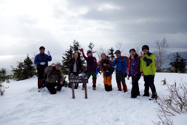 イチャンコッペ山と幌平山、12月20日-同行者からの写真-_f0138096_10433121.jpg