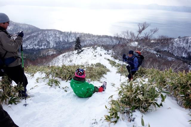 イチャンコッペ山と幌平山、12月20日-同行者からの写真-_f0138096_10433976.jpg