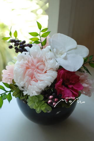 お供え花に_a0136507_21275066.jpg