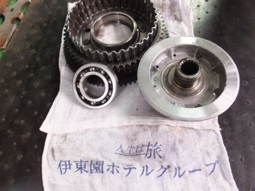 07XL1200L クラッチ切れない→原因追及→修理_a0257316_22243115.jpg