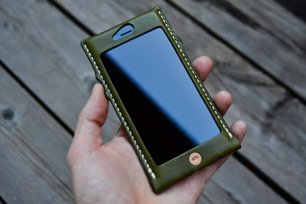 iphone 6s leather cover_b0172633_9382316.jpg