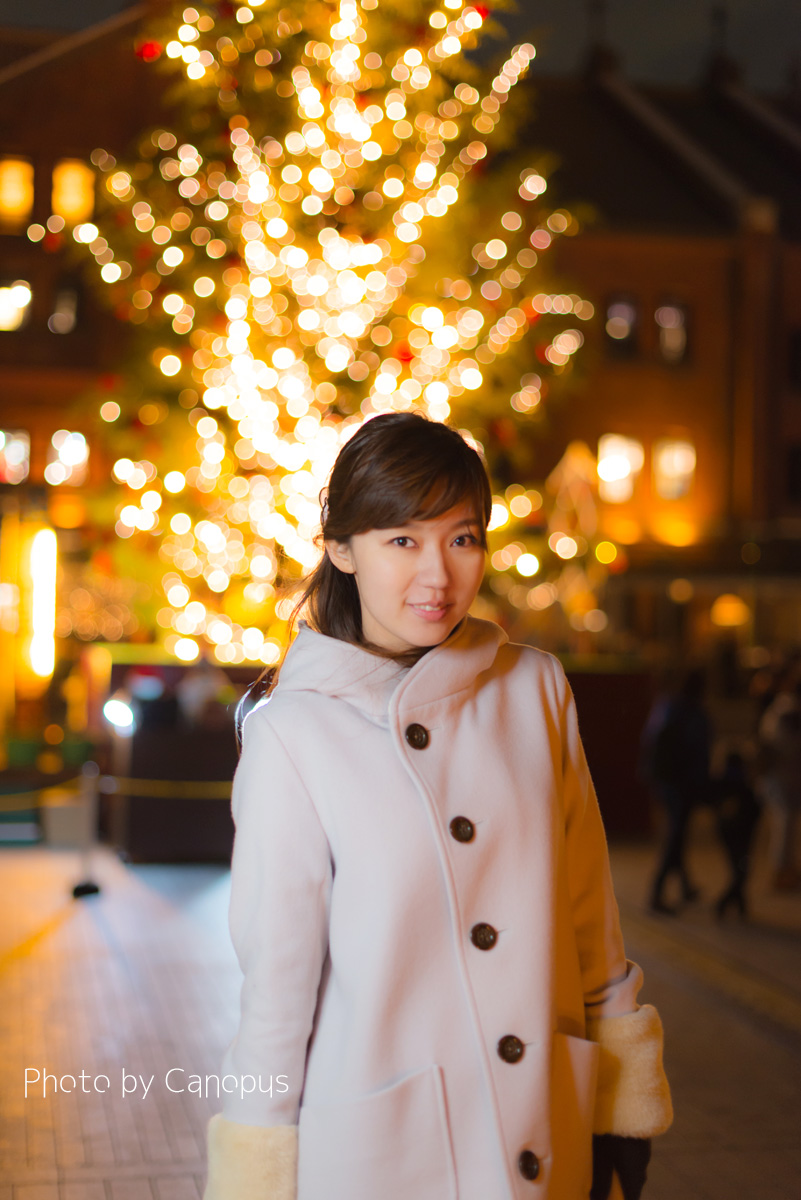 寒い夜だから、電球色の明かりが温かい_e0196140_23153912.jpg