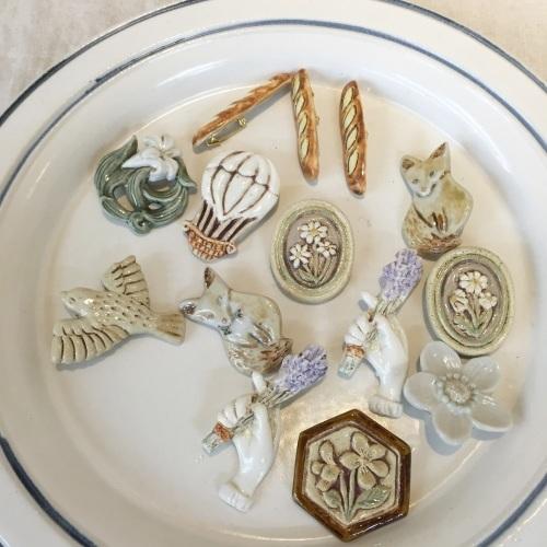 「Fleurs et de la poterie ー花と陶器ー 内山太朗 小菅幸子 二人展」終了しました。_e0060555_11031103.jpg