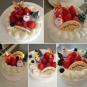 クリスマスケーキレッスン初日_d0145857_1171765.jpg