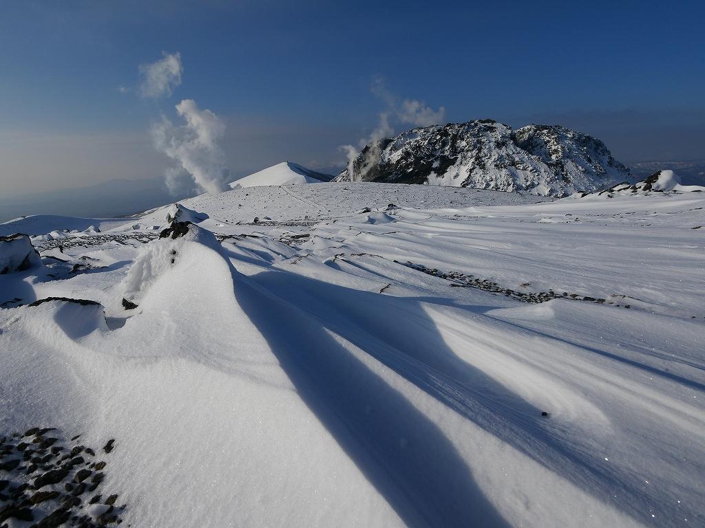 山納め(?)の樽前山、12月24日-速報版-_f0138096_15233739.jpg