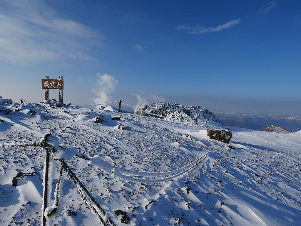 山納め(?)の樽前山、12月24日-速報版-_f0138096_15234714.jpg