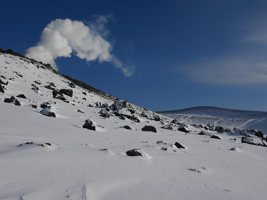 山納め(?)の樽前山、12月24日-速報版-_f0138096_15235625.jpg